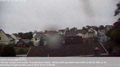 view from Wembury, Devon. Knighton Hill Cam on 2019-10-14