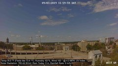 view from University Place Apartments - West Weather on 2019-09-07