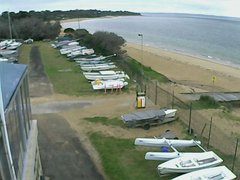 view from Cowes Yacht Club - West on 2019-10-16