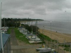 view from Cowes Yacht Club - West on 2020-02-24