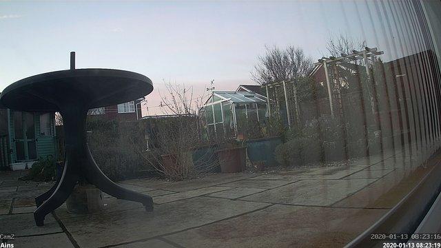time-lapse frame, Ainsweather webcam