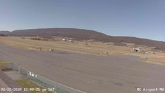 view from Mifflin County Airport (west) on 2020-02-22