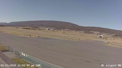 view from Mifflin County Airport (west) on 2020-02-23