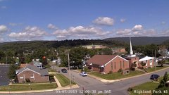 view from Highland Park Hose Co. #1 on 2019-09-07