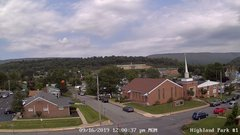 view from Highland Park Hose Co. #1 on 2019-09-16