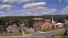 view from Highland Park Hose Co. #1 on 2019-09-19