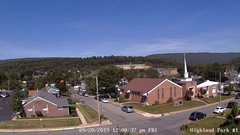 view from Highland Park Hose Co. #1 on 2019-09-20