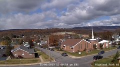 view from Highland Park Hose Co. #1 on 2019-11-08