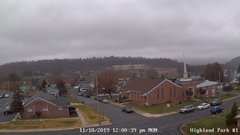 view from Highland Park Hose Co. #1 on 2019-11-18
