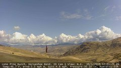view from Horseshoe Bend, Idaho CAM1 on 2019-10-01