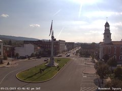 view from 13 East Market Street - Lewistown PA (west) on 2019-09-16