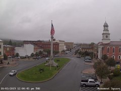 view from 13 East Market Street - Lewistown PA (west) on 2019-10-03