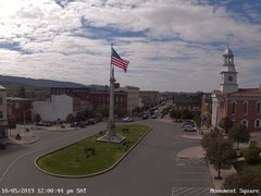 view from 13 East Market Street - Lewistown PA (west) on 2019-10-05