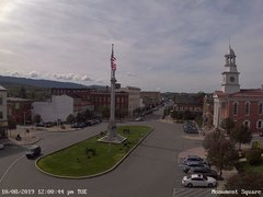 view from 13 East Market Street - Lewistown PA (west) on 2019-10-08