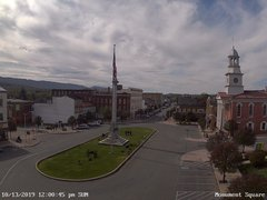 view from 13 East Market Street - Lewistown PA (west) on 2019-10-13