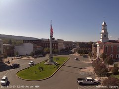 view from 13 East Market Street - Lewistown PA (west) on 2019-10-14