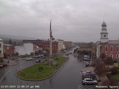view from 13 East Market Street - Lewistown PA (west) on 2019-11-07