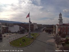 view from 13 East Market Street - Lewistown PA (west) on 2019-11-09
