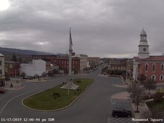 view from 13 East Market Street - Lewistown PA (west) on 2019-11-17