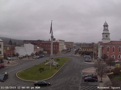 view from 13 East Market Street - Lewistown PA (west) on 2019-11-18