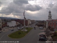 view from 13 East Market Street - Lewistown PA (west) on 2019-11-20
