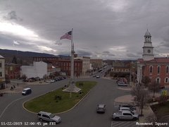 view from 13 East Market Street - Lewistown PA (west) on 2019-11-22