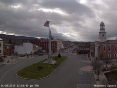 view from 13 East Market Street - Lewistown PA (west) on 2019-11-28