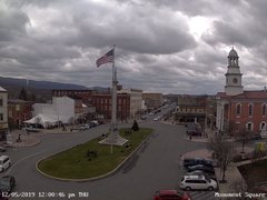 view from 13 East Market Street - Lewistown PA (west) on 2019-12-05