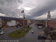 view from 13 East Market Street - Lewistown PA (west) on 2019-12-10