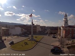 view from 13 East Market Street - Lewistown PA (west) on 2020-01-06