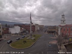 view from 13 East Market Street - Lewistown PA (west) on 2020-01-11