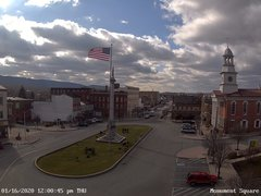 view from 13 East Market Street - Lewistown PA (west) on 2020-01-16