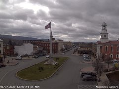 view from 13 East Market Street - Lewistown PA (west) on 2020-01-27