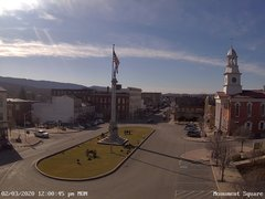 view from 13 East Market Street - Lewistown PA (west) on 2020-02-03