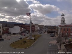 view from 13 East Market Street - Lewistown PA (west) on 2020-02-27