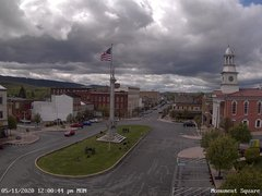 view from 13 East Market Street - Lewistown PA (west) on 2020-05-11
