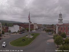view from 13 East Market Street - Lewistown PA (west) on 2020-05-21