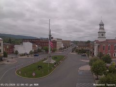 view from 13 East Market Street - Lewistown PA (west) on 2020-05-25