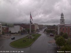 view from 13 East Market Street - Lewistown PA (west) on 2020-05-28