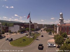 view from 13 East Market Street - Lewistown PA (west) on 2020-05-30