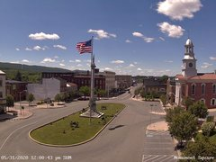 view from 13 East Market Street - Lewistown PA (west) on 2020-05-31