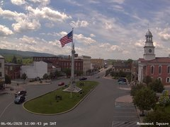 view from 13 East Market Street - Lewistown PA (west) on 2020-06-06