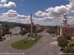 view from 13 East Market Street - Lewistown PA (west) on 2020-06-07