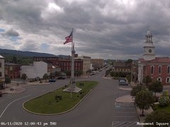 view from 13 East Market Street - Lewistown PA (west) on 2020-06-11