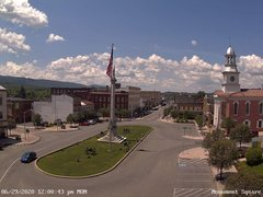view from 13 East Market Street - Lewistown PA (west) on 2020-06-29