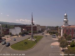 view from 13 East Market Street - Lewistown PA (west) on 2020-07-06