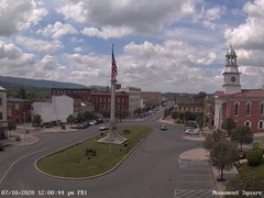 view from 13 East Market Street - Lewistown PA (west) on 2020-07-10