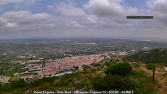 view from Enguera ADENE on 2020-05-26