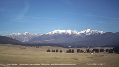 view from Pian Cansiglio - Casera Le Rotte on 2020-01-15