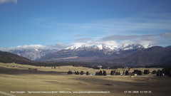 view from Pian Cansiglio - Casera Le Rotte on 2020-01-17